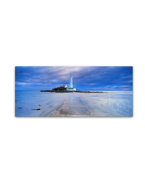 "Trademark Global Robert Harding Picture Library 'Lighthouse' Canvas Art - 32"" x 14"" x 2"""