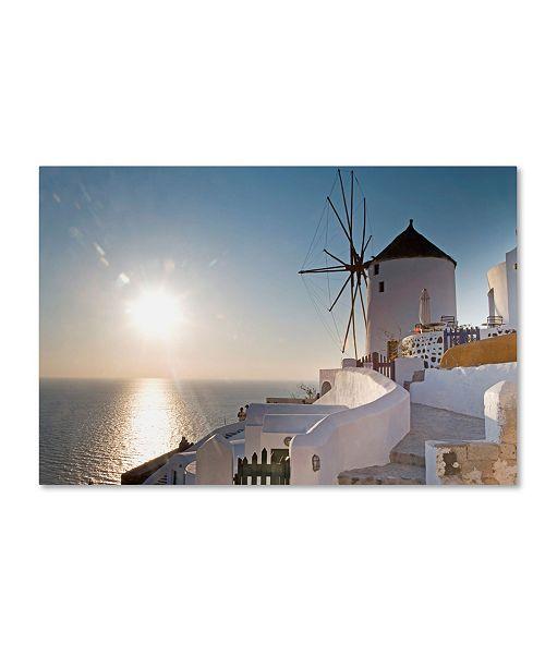 "Trademark Global Robert Harding Picture Library 'Windmill 5' Canvas Art - 24"" x 16"" x 2"""
