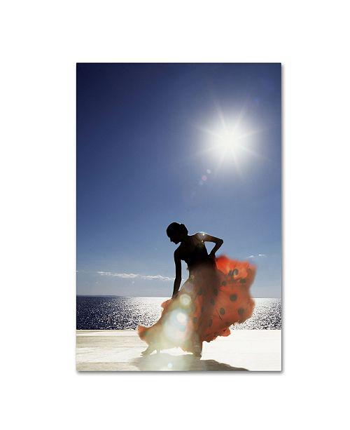 "Trademark Global Robert Harding Picture Library 'Woman Dancing' Canvas Art - 32"" x 22"" x 2"""