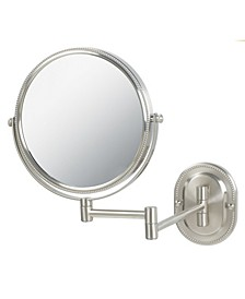"The JP7507NB 8"" Two-Sided Wall Mount Mirror"