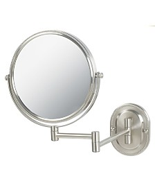 "The Jerdon JP7507NB 8"" Two-Sided Wall Mount Mirror"