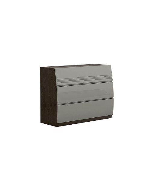 Wrangell Modern 3-Drawer Bedroom Dresser