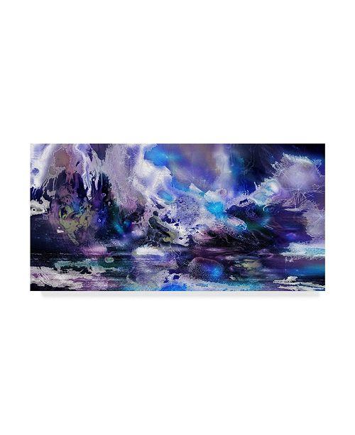 "Trademark Global RUNA 'Magical Winter' Canvas Art - 10"" x 19"" x 2"""