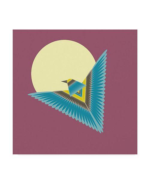 "Trademark Global Tammy Kushnir 'The Hawk' Canvas Art - 24"" x 24"" x 2"""