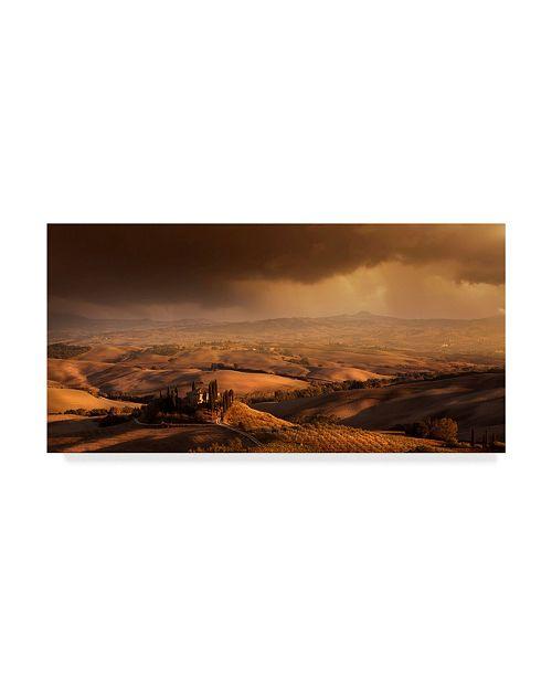 "Trademark Global Nicolas Schumacher 'Val Dorcia' Canvas Art - 32"" x 2"" x 16"""