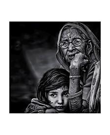 "Piet Flour 'Grandmother' Canvas Art - 14"" x 2"" x 14"""
