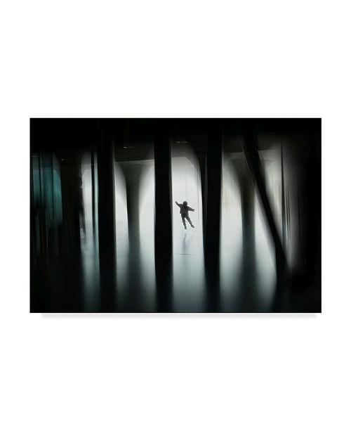 "Trademark Global Vito Guarino 'Jumping For Joy' Canvas Art - 24"" x 2"" x 16"""