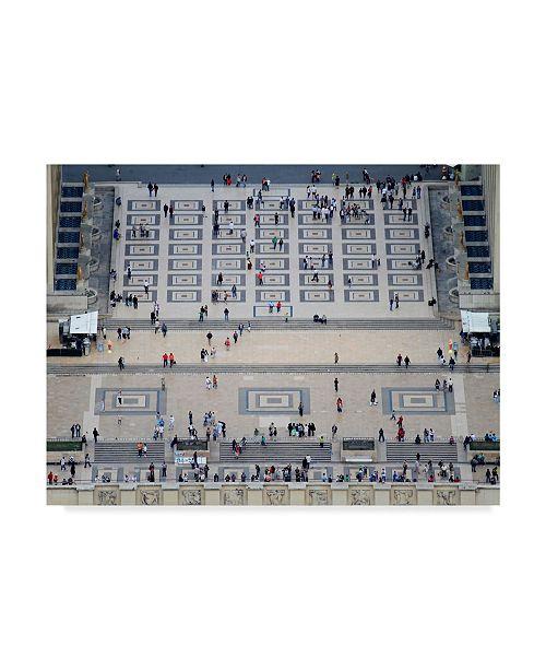 "Trademark Global Miguel Silva 'Arial Street' Canvas Art - 47"" x 2"" x 35"""