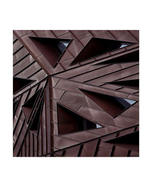 "Trademark Global Yvette Depaepe 'Urban Asymmetry' Canvas Art - 35"" x 2"" x 35"""