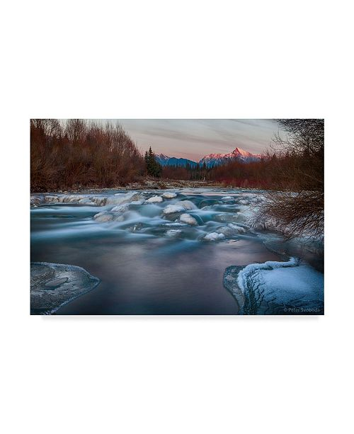 "Trademark Global Peter Svoboda 'Fire And Ice Floating' Canvas Art - 32"" x 2"" x 22"""