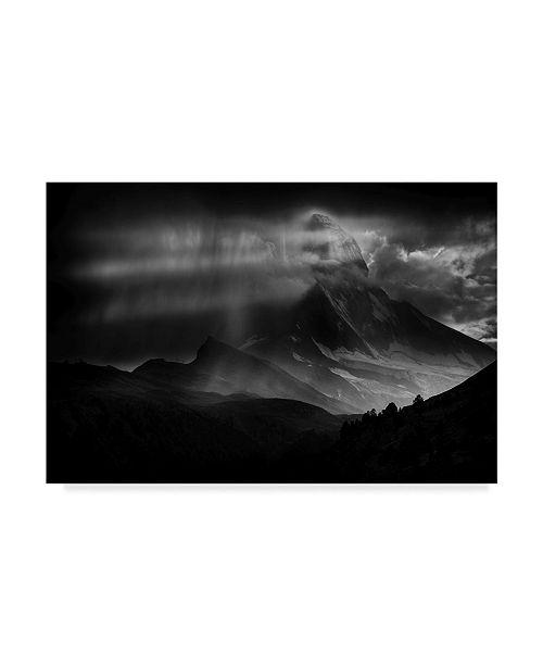 """Trademark Global Peter Svoboda 'Matterhorn Light Show' Canvas Art - 47"""" x 2"""" x 30"""""""