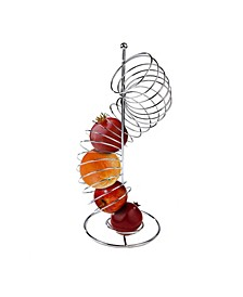 Stainless Steel Spiral Fruit Basket Holder
