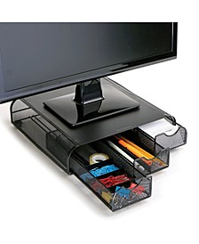 PC, Laptop, IMAC Monitor Stand and Desk Organizer Metal Mesh