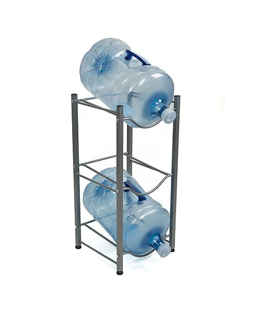 Mind Reader 3 Tier Stainless Steel Heavy Duty Water Cooler Jug Rack