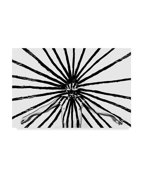 "Trademark Global Mike Melnotte 'Radiation' Canvas Art - 24"" x 2"" x 16"""