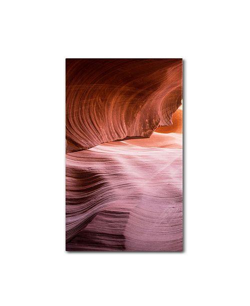 "Trademark Global Moises Levy 'Lower Wave III' Canvas Art - 24"" x 47"" x 2"""