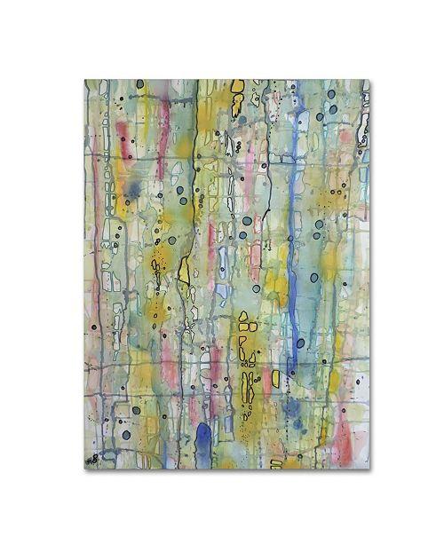 "Trademark Global Sylvie Demers 'Air du Temps 1' Canvas Art - 47"" x 35"" x 2"""