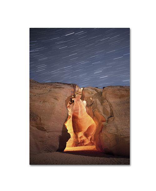 "Trademark Global Moises Levy 'Flame' Canvas Art - 32"" x 24"" x 2"""