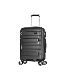 "Olympia USA Nema 22"" Carry-On PC Hardcase Spinner"