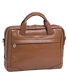 Mcklein Bridgeport Large Laptop Briefcase