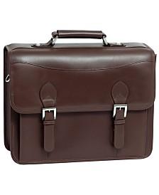 McKlein Siamod Belvedere Double Compartment Laptop Briefcase