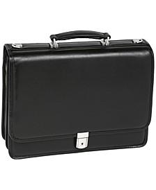 Bucktown Double Compartment Laptop Briefcase