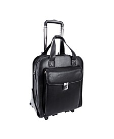 Siamod Pastenello Vertical Patented Detachable -Wheeled Laptop Briefcase