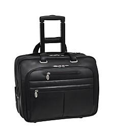 Mcklein Wrightwood Wheeled Laptop Briefcase