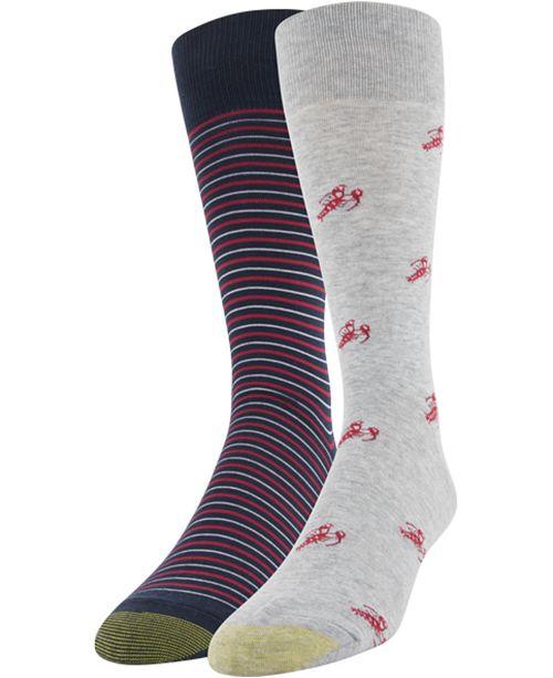 Gold Toe Men's 2-Pk. Lobster Socks