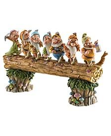 Seven Dwarfs On Log Musical Masterpiece Figurine