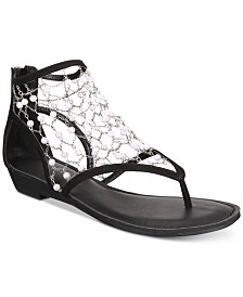 ZIGIny Madilyn Chain-Embellished Flat Sandals