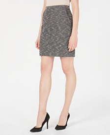 Anne Klein Tweed Skirt