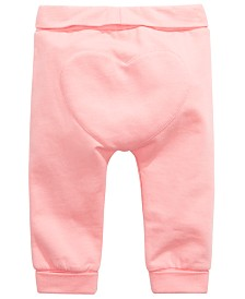 First Impressions Baby Girls Heart Yoga Pants, Created for Macy's