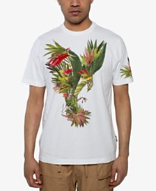 Sean John Men's Palm Eagle Graphic T-Shirt