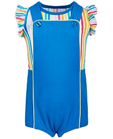 First Impression's Baby Girl's Rainbow Shortfall Set, Created for Macy's