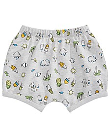 Baby Boys or Girls Tropical Fun Bloomer Shorts, Created for Macy's