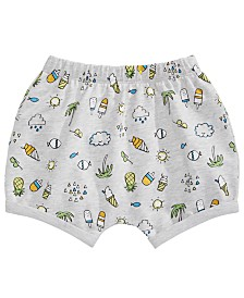 First Impressions Baby Boys or Girls Tropical Fun Bloomer Shorts, Created for Macy's