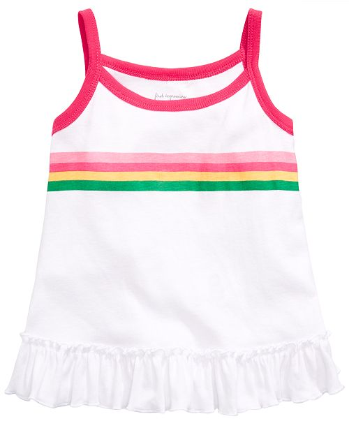 First Impressions Toddler Girls Striped Swing Tank Top, Created for Macy's