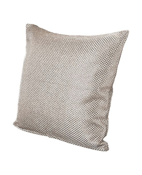 "Siscovers Silk Route Lotus 16"" Designer Throw Pillow"