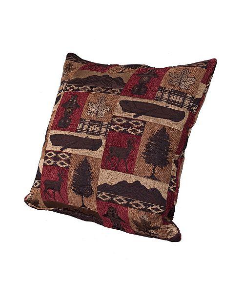 "Siscovers Fargo 20"" Designer Throw Pillow"