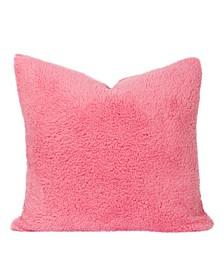 "Playful Plush Cotton Candy 20"" Designer Throw Pillow"