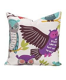 "Owl Always Love You 20"" Designer Throw Pillow"