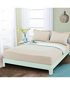 Silky Soft Single Fitted Set King Cream