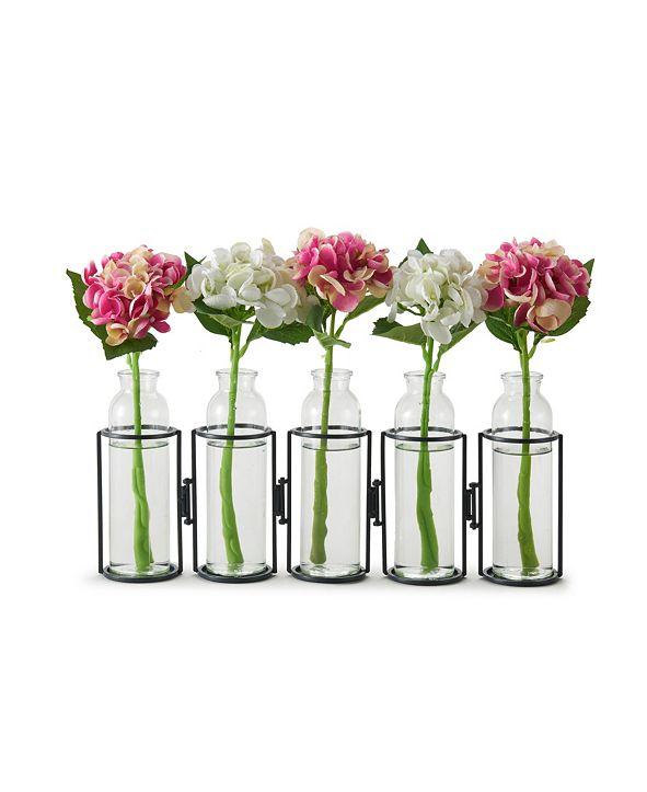 "Danya B 8"" Hinged 5 Bottle Vase"