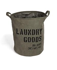 Danya B. Army Canvas Laundry Bucket