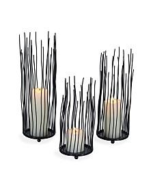 Danya B. Willow Iron Candleholder 3-piece Set