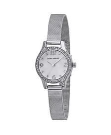 Mini Silver Mesh Bracelet Watch