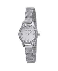 Laura Ashley Mini Silver Mesh Bracelet Watch