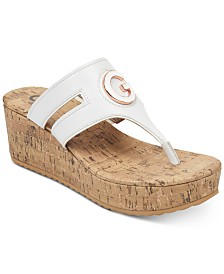 G by GUESS Gandy Wedge Sandals