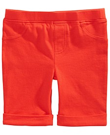 Toddler Girls Solid Bermuda Shorts, Created for Macy's